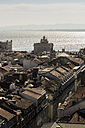 Portugal, Lisbon, cityscape as seen from Elevador de Santa Justa - THAF01930