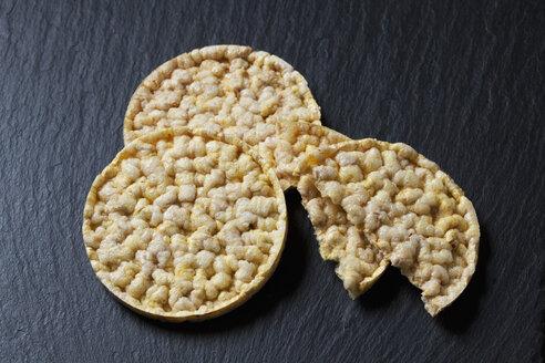 Corn waffles on slate - CSF28256