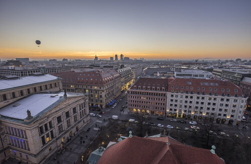 Germany, Berlin, elevated city view at sunset - PVCF01070