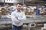Portrait of confident man in factory - DIGF01768