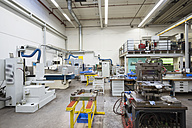 Factory shop floor, tool making section - DIGF01804