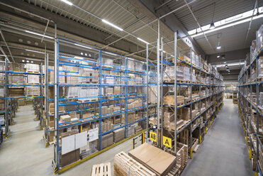 High rack warehouse in factory - DIGF01813