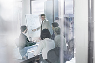 Businessman leading a presentation in city office - ZEF13622