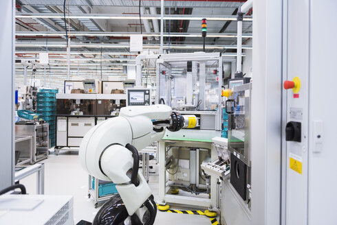 Assembly robot in factory - DIGF02226