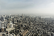 USA, New York City, Manhattan skyline - UUF10473
