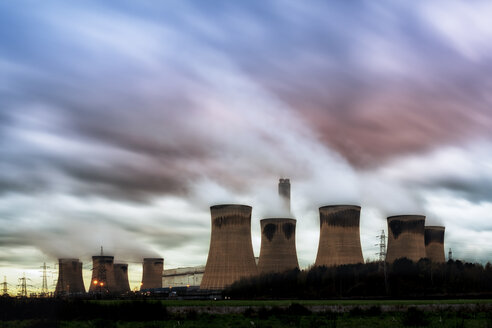 UK, England, North Yorkshire, Drax power station - SMAF00735