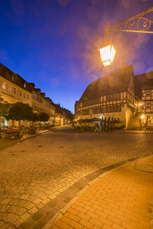 Germany, Saxony-Anhalt, Stolberg at night - PVCF01098