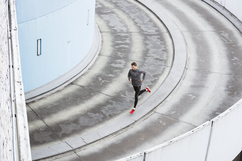 Young man running in the city - DIGF02409