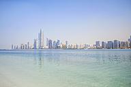UAE, skyline of Abu Dhabi at the waterfront - MMAF00071
