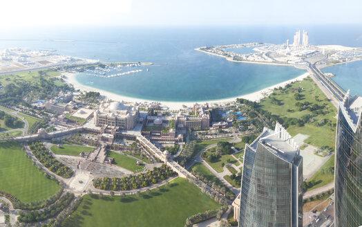 UAE, Abu Dhabi, Emirates Palace Hotel at the waterfront - MMAF00074