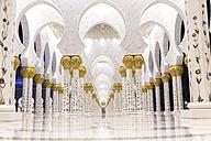 UAE, Abu Dhabi, Sheikh Zayed Mosque - MMA00089
