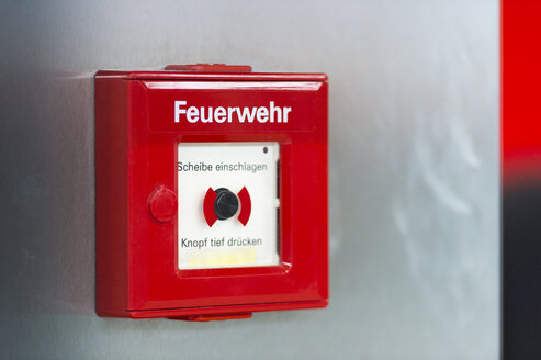 Fire alarm at wall - FRF00507