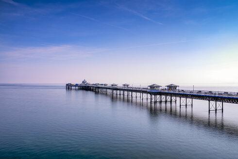UK, Wales, Llandudno, Llandudno Pier - SMAF00746