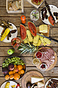 Variety of food on outdoor table - ZOCF00330