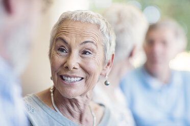 Portrait of smiling senior woman - ZEF13815
