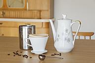 Preparing filter coffee - GWF05224