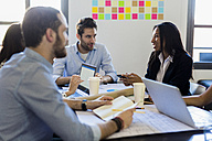 Business people having a meeting in office - GIOF02610
