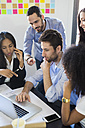 Business people having a meeting in office - GIOF02628