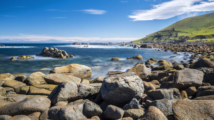 New Zealand, South Island, Southern Scenic Route, Orepuki, Cosy Nook Beach - STSF01241