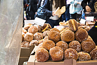Donuts on street market - ABZF02095