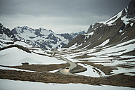 Switzerland, Grisons, Car on Albula Pass - STCF00346