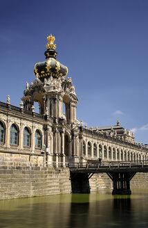 Germany, Dresden, Zwinger, moat, Kronentor and Langgalerie - BTF00484