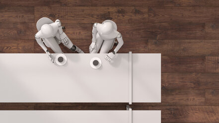 Robot , 3d rendering - AHUF00397