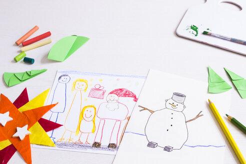 Children's Christmas drawings - CMF00688