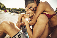 Couple in love on the beach - SUF00149