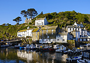 UK, England, Cornwall, Polperro, fishing harbor - SIEF07449