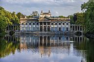 Poland, Warsaw, Royal Lazienki Park, Palace on the Isle, northern facade - ABOF00213