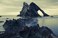UK, Scotland, Bow Fiddle Rock - FCF01213
