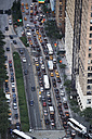 USA, New York City, traffic, aerial view - BCDF00282