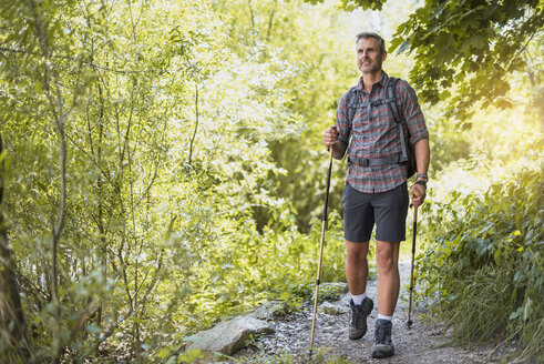 Hiker on trail in the nature - DIGF02602