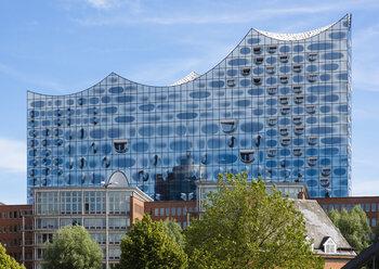 Germany, Hamburg, view to Elbe Philharmonic Hall - RJF00700