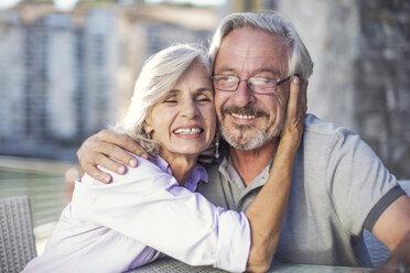 Senior couple enjoying their a city break - ZEF14156