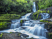 New Zealand, South Island, McLean Falls at Catlins Forest Park - STSF01251
