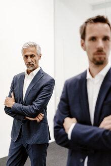 Portrait of two businessmen in office - KNSF02196