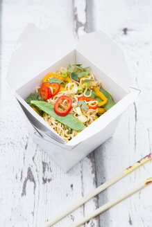 Box of mie noodles with vegetables - LVF06234