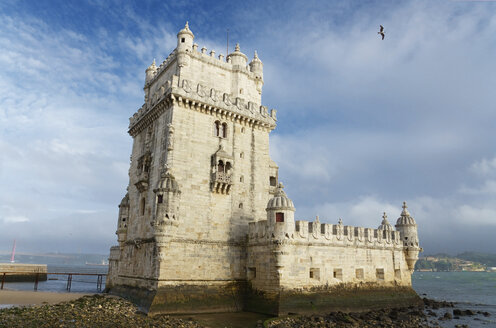 Portugal, Lisbon, Tower of Belem - DHCF00126