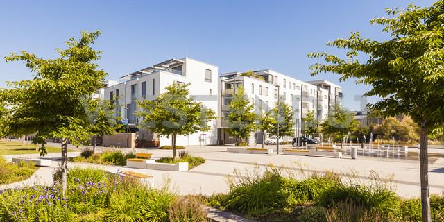 Germany, Heidelberg, Bahnstadt, passive house development area - WDF04073