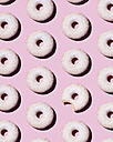 Doughnuts on pink background - DRBF00018