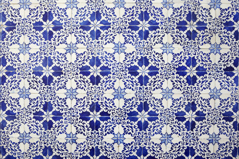 Portugal, Azulejos, close-up - TLF00759