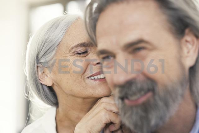 Portrait of an affectionate senior couple - SBOF00501