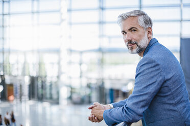 Portrait of confident businessman - DIGF02645