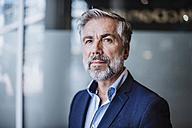 Portrait of confident businessman - DIGF02657