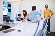 Business people having a meeting in office, brainstorming - ZEF14393