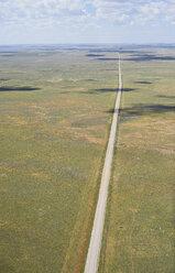 USA, Aerial photograph of Highway 59 south of Grover, Colorado - BCDF00321