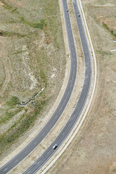 USA, Aerial photograph of the Northwest Parkway in the Greater Denver, Colorado region - BCDF00330