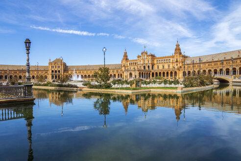 Spain, Andalusia, Sevilla, Plaza de Espana - PUF00665